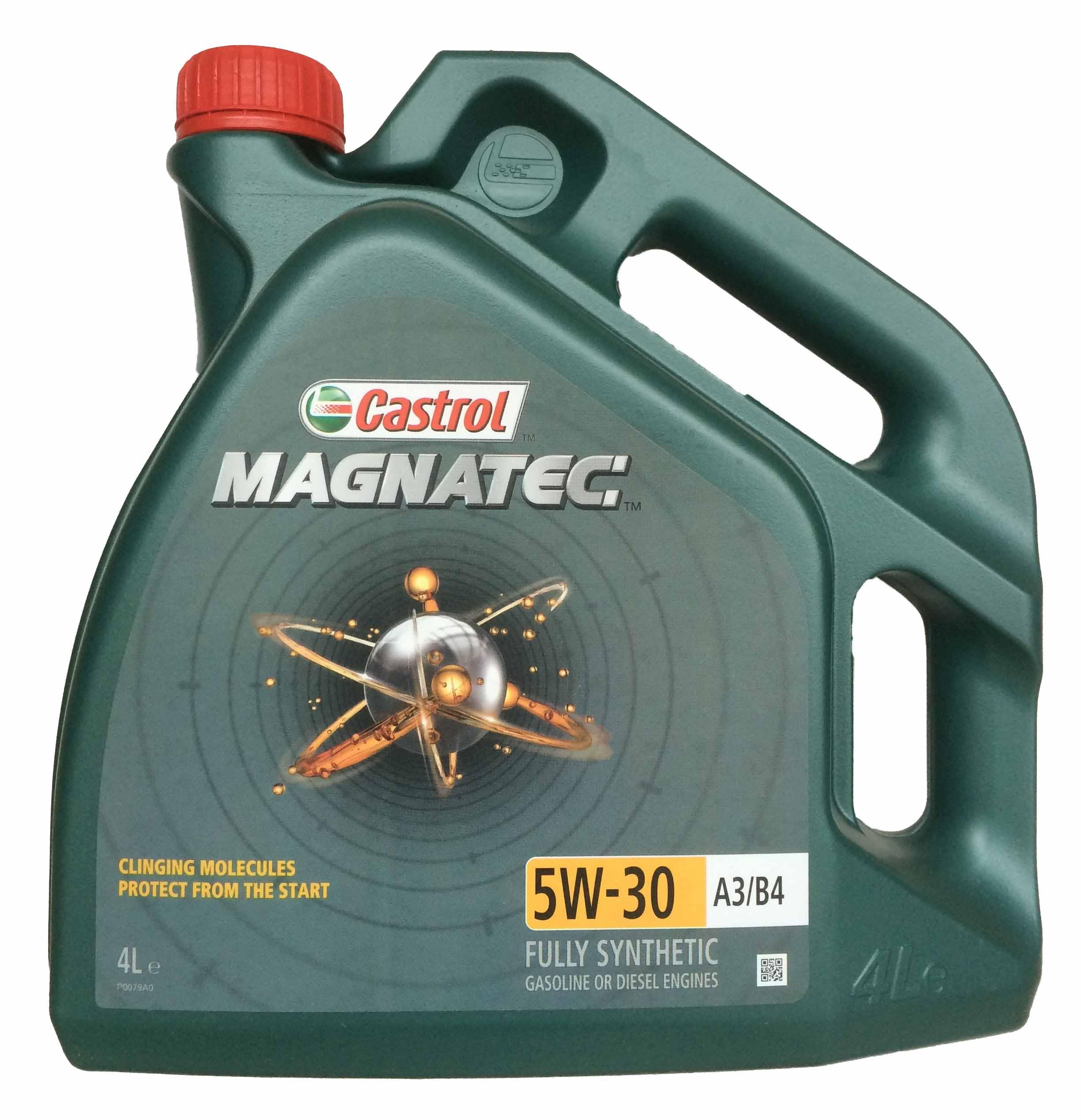 Изображение для CASTROL Magnatec 5W-30 A3 B4 (4л)