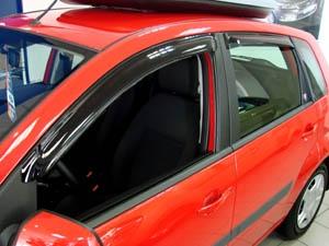 Дефлекторы окон Novline-Autofamily Ford FIESTA 2008 - фото 9