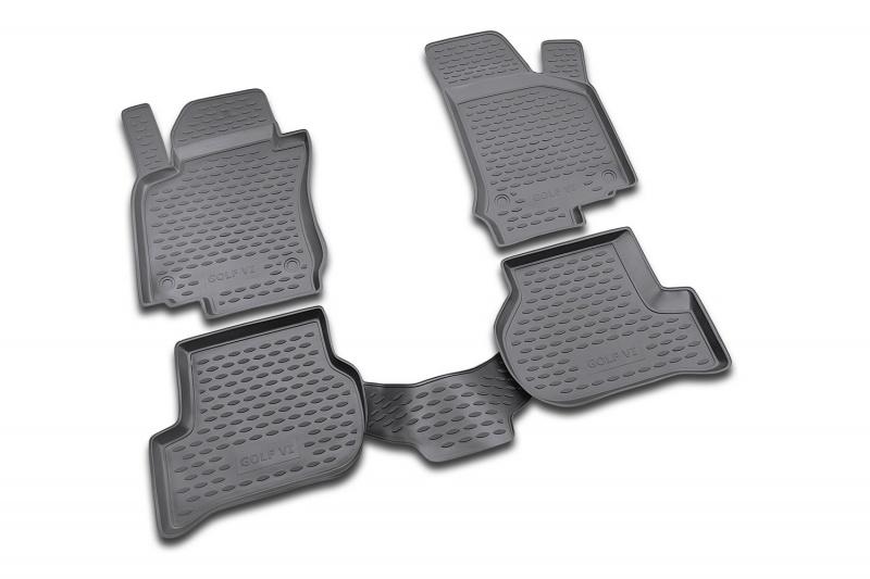 Автомобильные коврики Novline-Autofamily Коврики 3D в салон VW Touareg. - фото 10