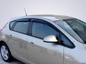 Дефлекторы окон Novline-Autofamily Opel Meriva 2003-2010 - фото 9