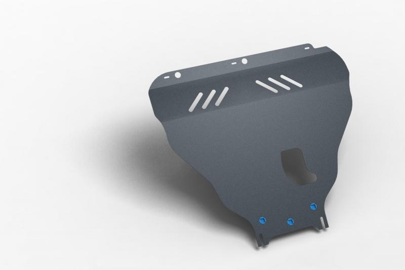 Комплект: защита картера и крепеж Novline-Autofamily Ford Edge 2013: 3,5 бензин АКПП - фото 5