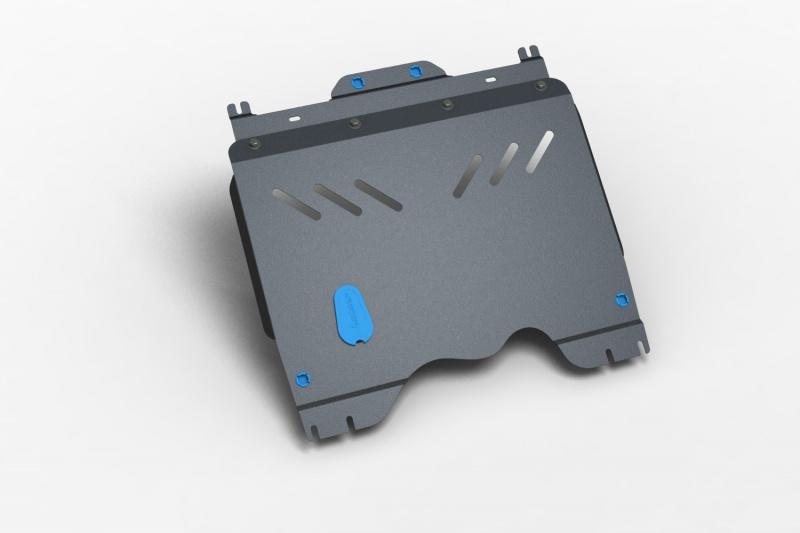 Комплект: защита картера и крепеж Novline-Autofamily Chery Indis 2011: 1,3 бензин МКПП - фото 9