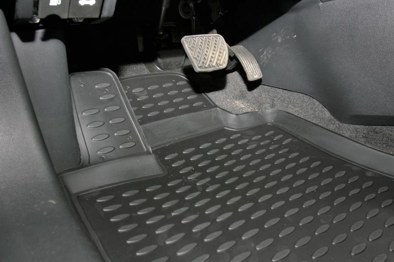 Автомобильный коврик Novline NLT.36.24.11.110kh Nissan Qashqai 2 2008 кросс 7 - фото 8