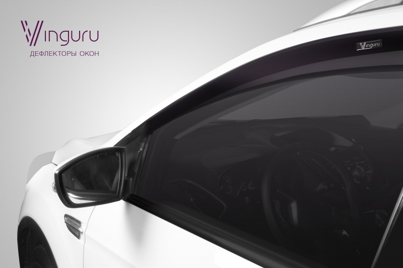 Дефлекторы окон Vinguru Mitsubishi Galant VIII 1996-2003 седан - фото 5