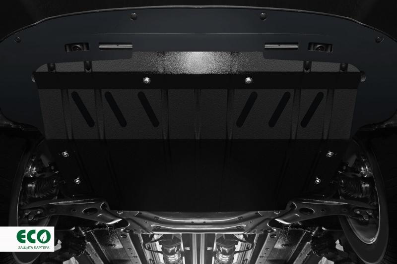 Комплект: защита картера и крепеж Novline-Autofamily Toyota Highlander 2015, Venza 2014, Camry 2015: 2,5/2,7 бензин АКПП - фото 5