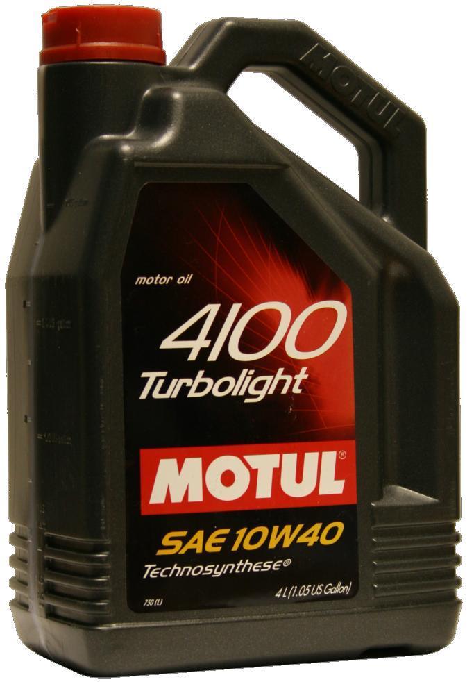 Изображение для Motul 4100 Turbolight 10W40 4л