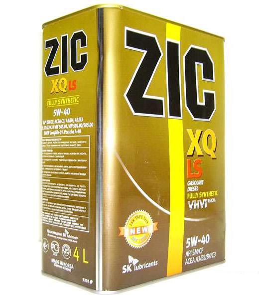 Изображение для ZIC XQ LS 5W40 4л