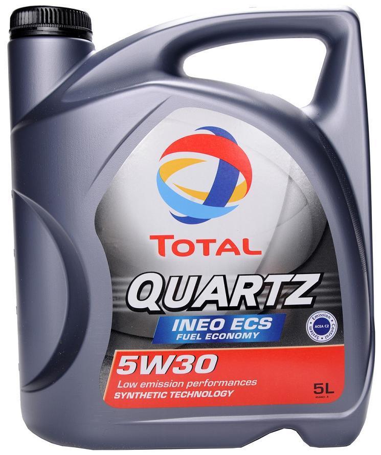 Изображение для TOTAL QUARTZ INEO ECS 5w-30 4л