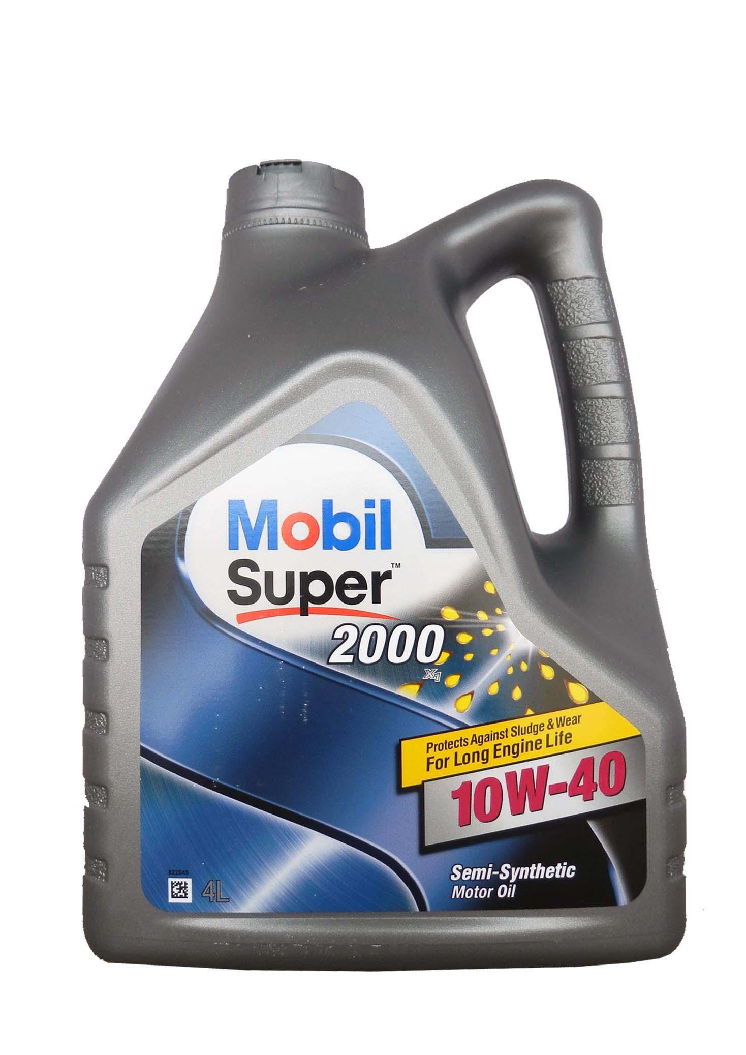 Изображение для Mobil Super 2000 X1 SAE 10W-40 (4л)