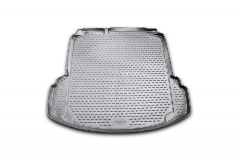Изображение для Коврик в багажник VW Jetta, с карманами (Conceptline, Conceptline Plus, Trendline), 2011-2015, 2015->, сед. (полиуретан)