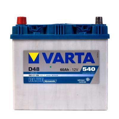 Изображение для Аккумулятор автомобильный Varta 12 В 60 Ач 540 А 560411054