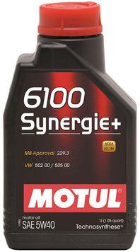 Изображение для Motul 6100 Synergie+ SAE 5W-30 1л