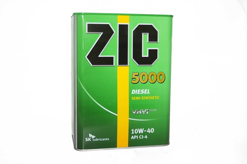 Изображение для ZIC SD 5000 15w40   CH-4 4л